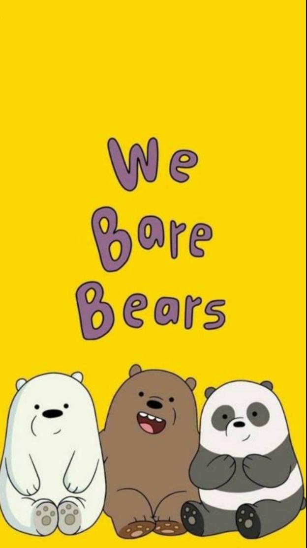 Pin By Agatha Febria On Beyza We Bare Bears Wallpapers Ice Bear We Bare Bears Bear Wallpaper