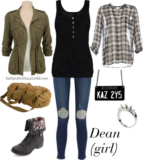 Dean Winchester - supernatural inspired fashion