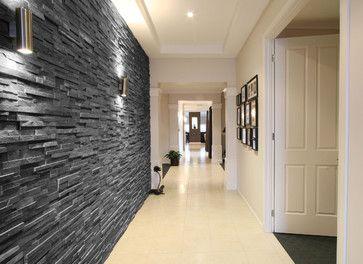Black Slate Split Face Tiles