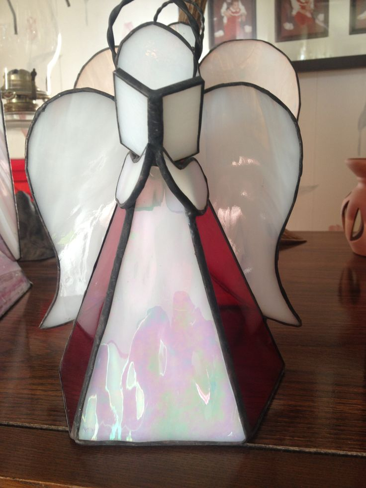 Red and white guardian Angel