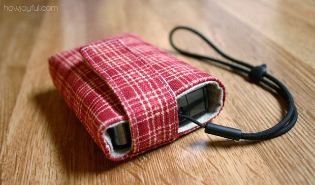 camera cover  by HowJoyful, via FlickrCovers Tutorials, Cameras Cases, Cameras Covers, Gift Ideas, Red Pattern, Cameras Bags, Canon Cameras, Cell Phones Covers, Digital Cameras