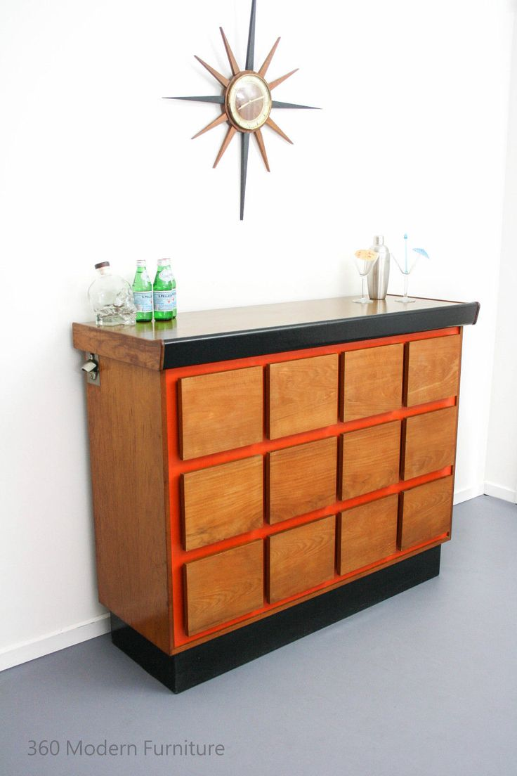 54 Best Images About Mid Century Bars Amp Drinks Carts By