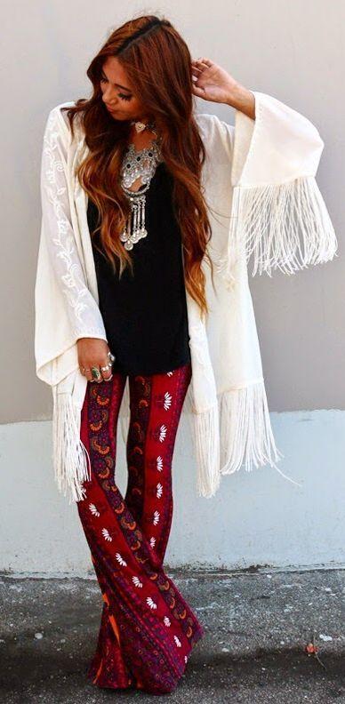 Dress Like a Hippie #womenfashionblog #womenfashions #realwomenfashion