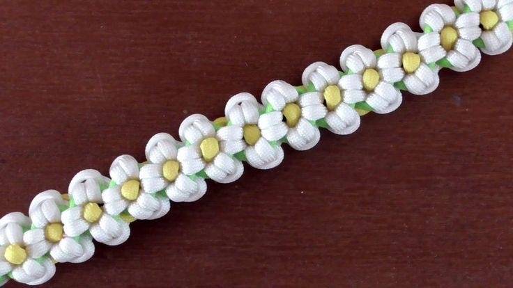 How To Make A Daisy Paracord Bracelet
