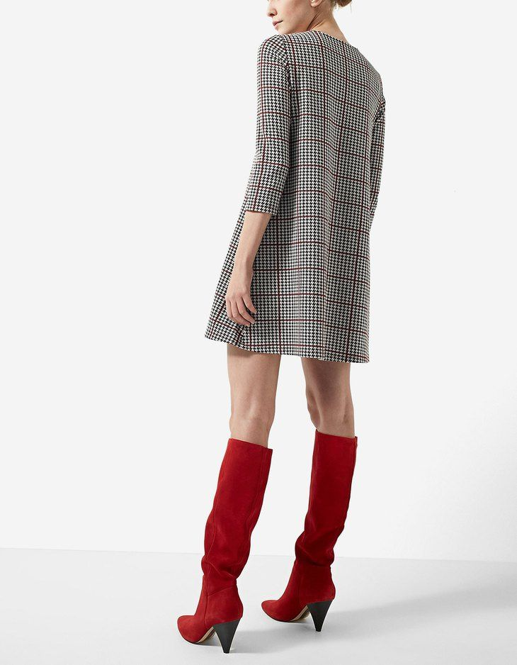 At Stradivarius you'll find 1 A-line long sleeve dress for just 15.99 United Kingdom . Visit now to discover this and more Skirts.