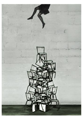 Best Up There Images On Pinterest Levitation - Minimalistic black white photo series captures energetic movements mid air