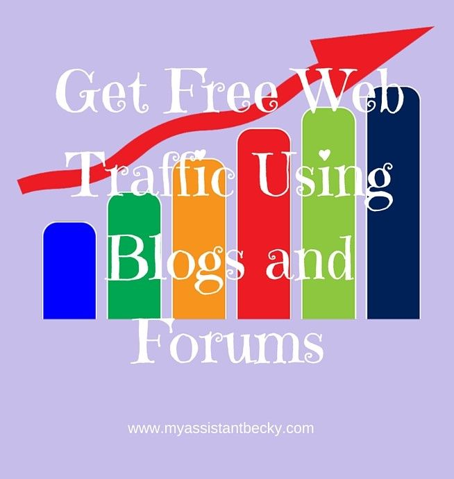 Find out how using blogs and forums can help to explode your web traffic