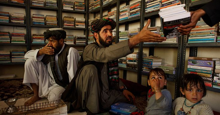 A volunteer organization founded by a teenager has worked to reopen schools and create libraries in some of the Afghan provinces hardest hit by war.
