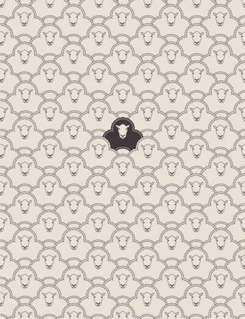 En un lejano país existió hace muchos años una oveja negra. Fue fusilada. Un siglo después, el rebaño arrepentido le levantó una estatua ecuestre que quedó muy bien en el parque. Así, en lo sucesivo, cada vez que aparecían ovejas negras eran rápidamente pasadas por las armas para que las futuras generaciones de ovejas comunes y corrientes pudieran ejercitarse también en la escultura. —Augusto Monterroso.