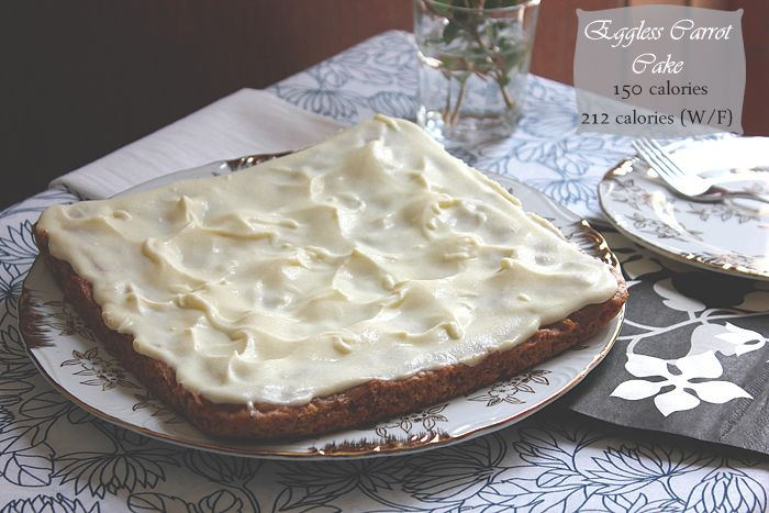 Eggless Carrot Cake. Moist and delicious. #eggless