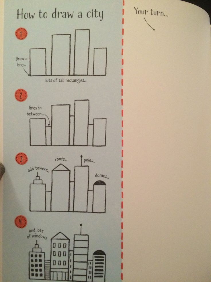 How to draw a city #raisasbooks