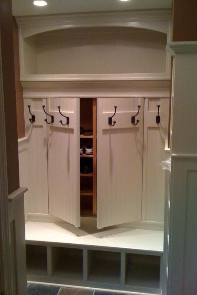 laundry room closet ideas | pinned by curly betty