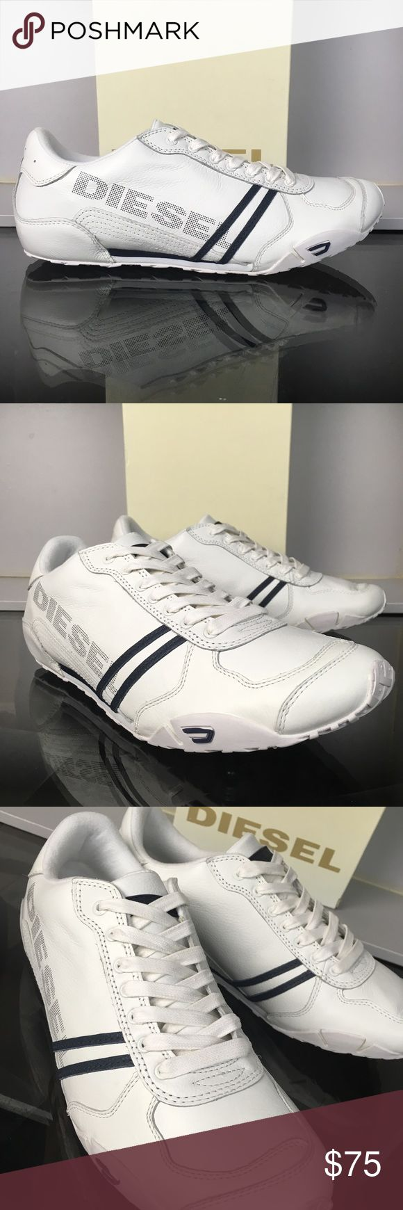 Diesel White Navy Harold Solar Brand new and with the original box Diesel Shoes Sneakers