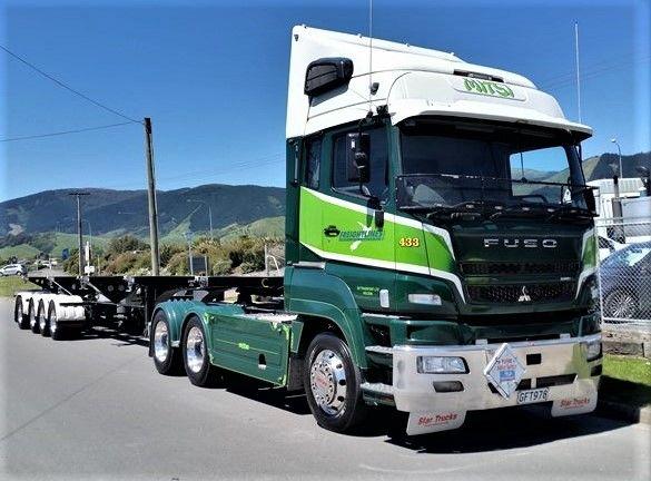 MITSUBISHI  FUSO HD EURO, Semi-Trailer, Container Truck in