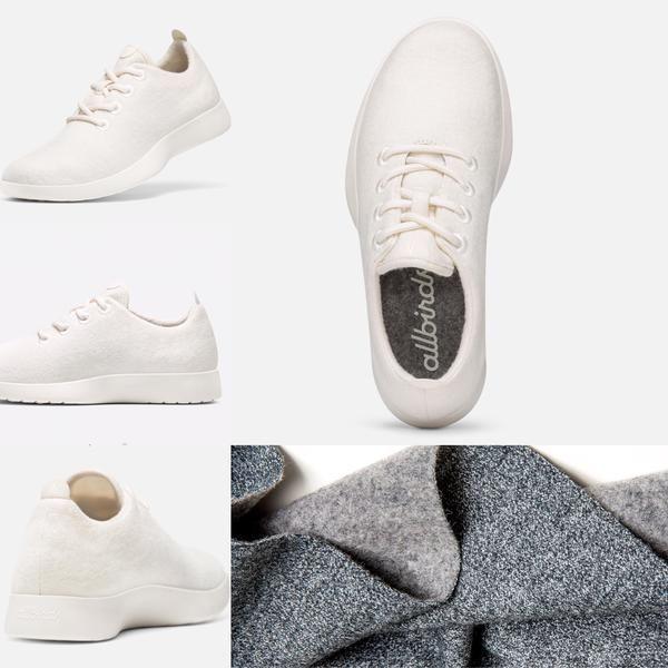 modern NZ merino shoe, Allbirds