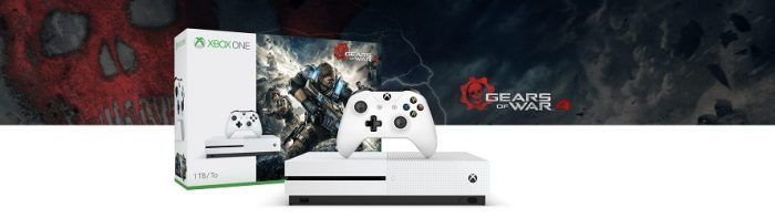 Xbox One Deals: Save Big on Xbox One S Gears of War 4 Console Bundle
