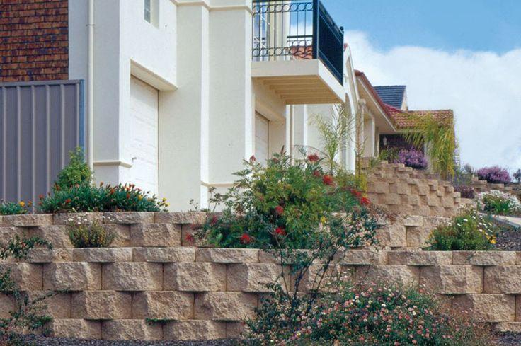 GB Masonry Keystone Retaining Wall
