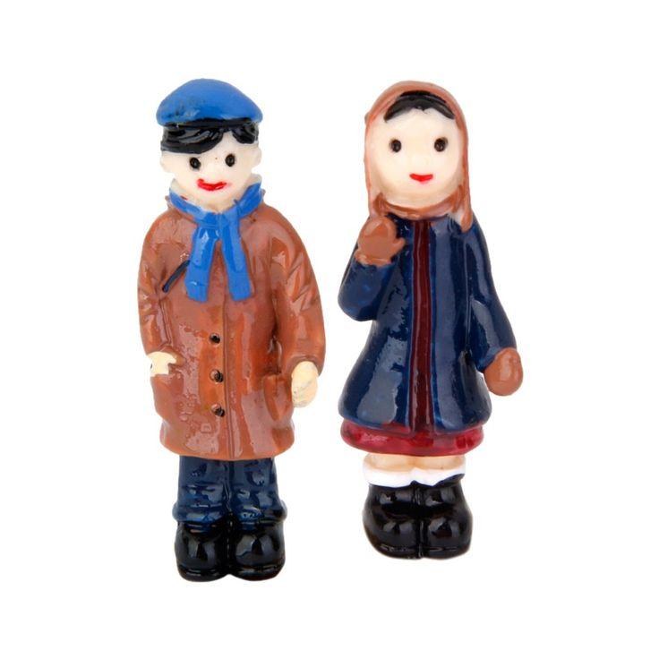 Der Spielzeugtester hat das Paar Miniatur Puppenstuben Bonsai Puppenhaus Dollhau… – Spielzeugtester