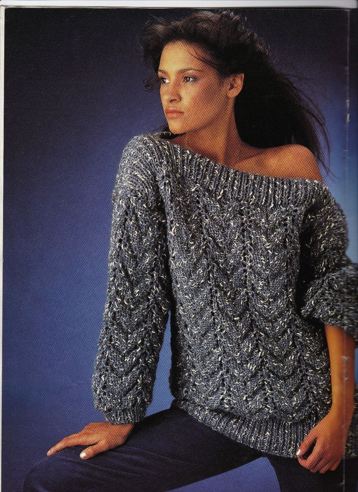 Instant Download PDF Knitting PATTERN to make an Oversize Fishermens ...