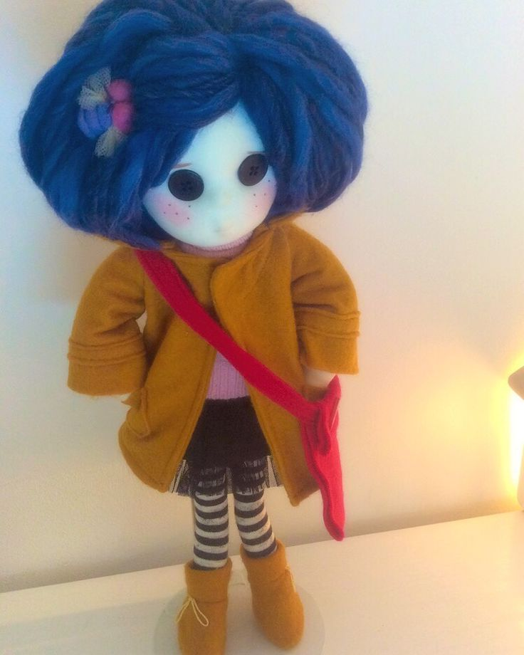 Commission doll #coraline now taking orders plz email me on dollsofdawn@gmail.com