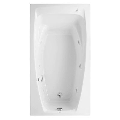 """American Standard Colony 60"""" x 33"""" Air Tub with Hydro Massage & Reviews 