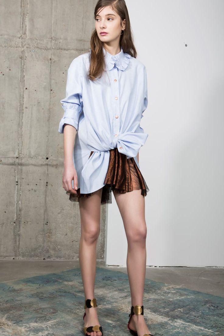 Zorita shirt & Frannie skirt