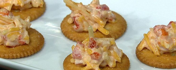 Prepare Carla's pimento cheese for your party!