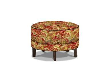 Shop For Ethan Allen Nassau Ottoman Round 27 Inch, And Other Living Room  Ottomans At Ethan Allen In Danbury, CT.