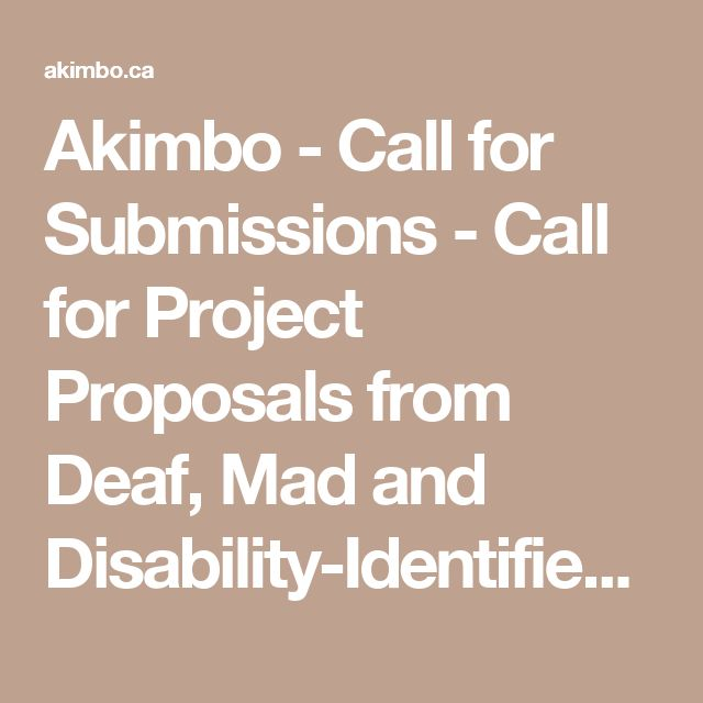 Call For Project Proposals Toronto Art Book Fair Call For