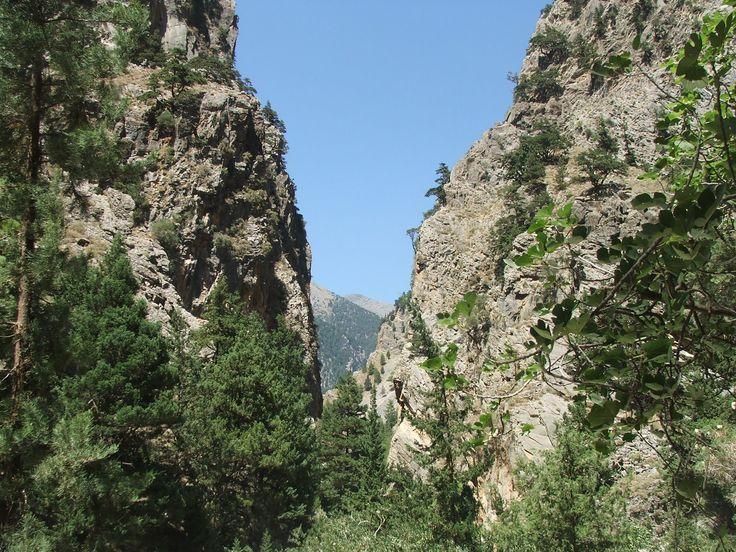 Wąwóz Samaria - Kreta