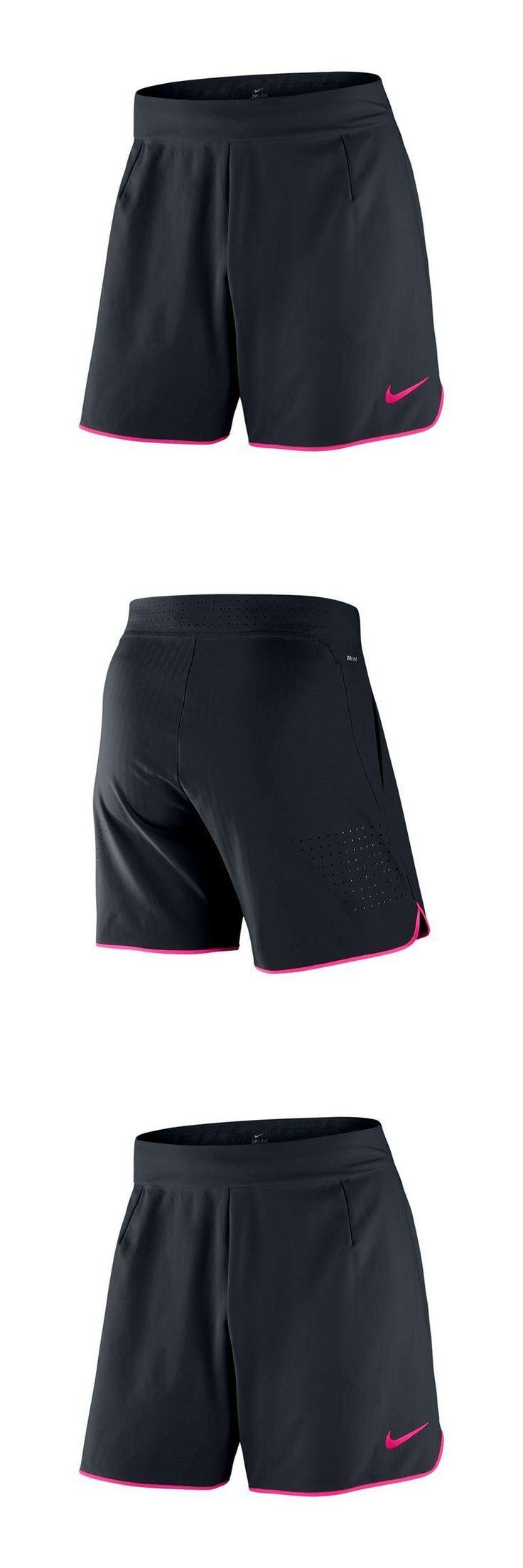 Shorts 70902: Nike Court Flex Tennis Short - Black Hyper Pink -> BUY IT NOW ONLY: $59.97 on eBay!