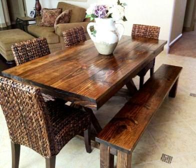 Farmhouse Dining Room Tables 66 best baluster turned leg table images on pinterest | benches