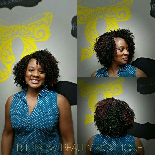 Crochet Braids Virginia : Crochet braids, bohemian curl, freetress, BillBow Beauty Boutique ...