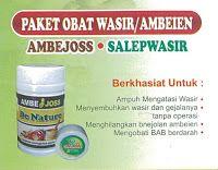 AMBEJOSS & SALEP SALWA: Bagaimana Cara Menghilangkan Penyakit Wasir/Ambeie...