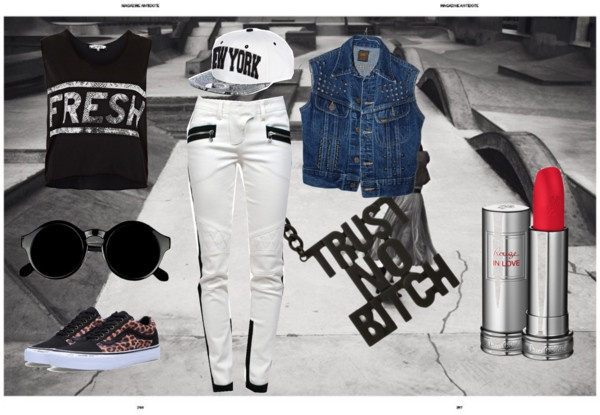 """skate punk"" by arianitjarinto on Polyvore"