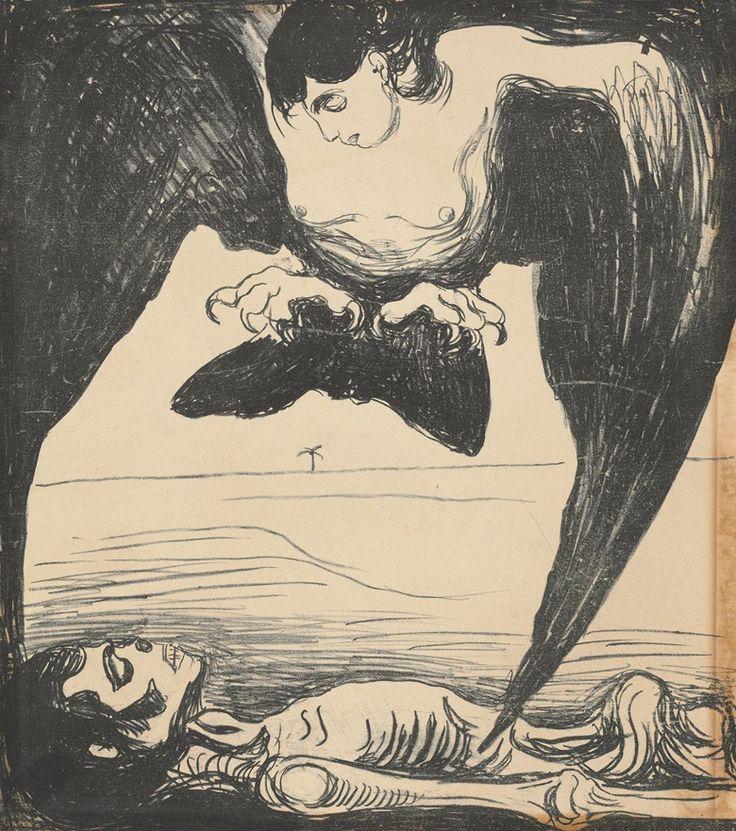 * Harpy, 1899 Edvard Munch