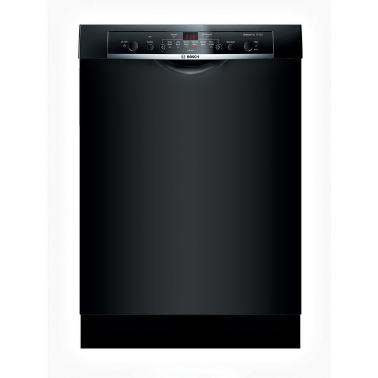 Reviews say NO... jumps off tracks-     Bosch SHE3ARF6UC Ascenta 24-in Built-in Stainless Steel Dishwasher (Black) ENERGY STAR | Lowe's Canada