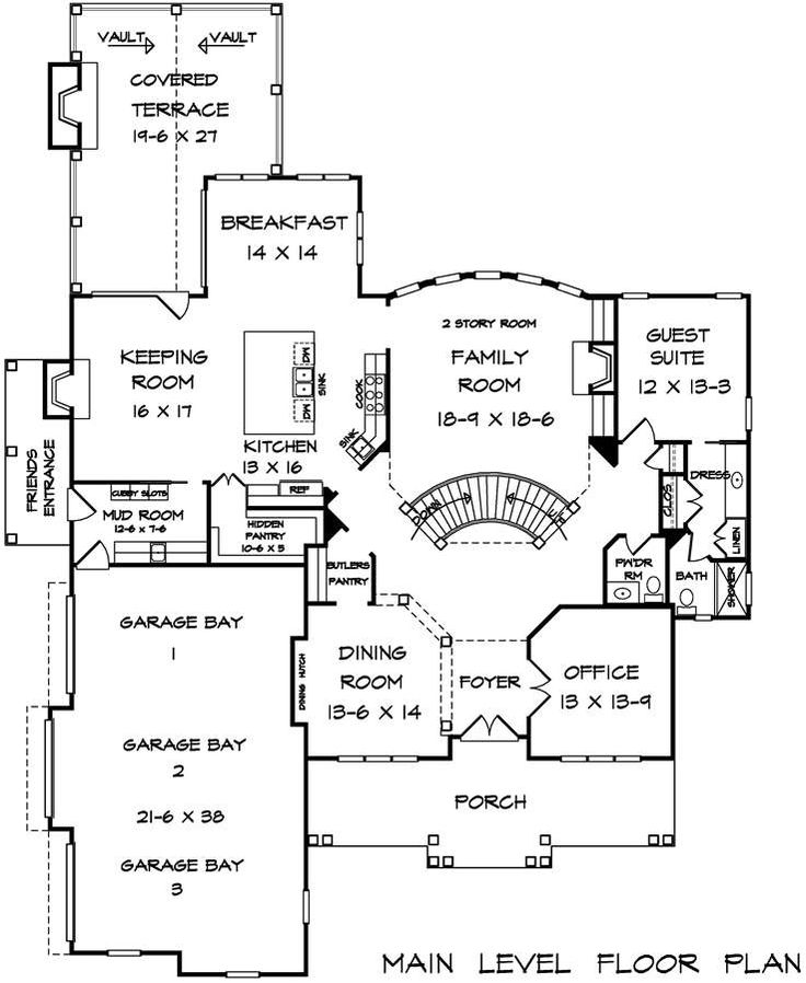 139 best House Plans images on Pinterest | Home, House floor plans ...