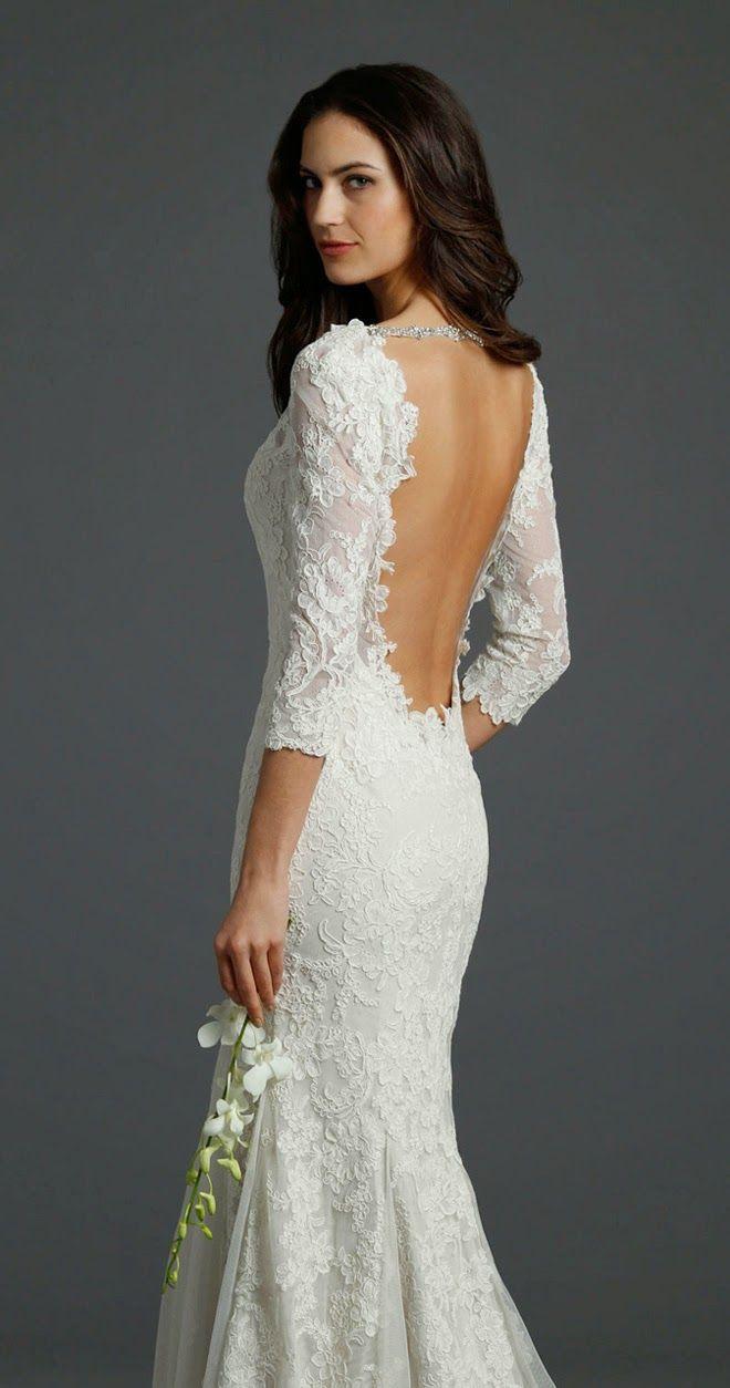 Alvina Valenta Fall 2014 Bridal Collection   bellethemagazine.com