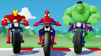 Marvel Super Hero Mashers Spider-Man (Battles Edited)   Mix + Smash - YouTube