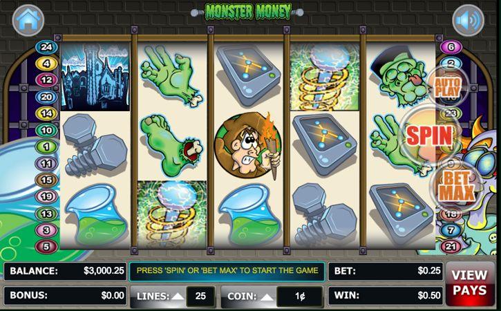 Discover Gambling Secrets How You Can Win Cash & Bitcoin Playing Monster Money Slots Online. Las Vegas Casino Slot Games Strategies & Reviews.