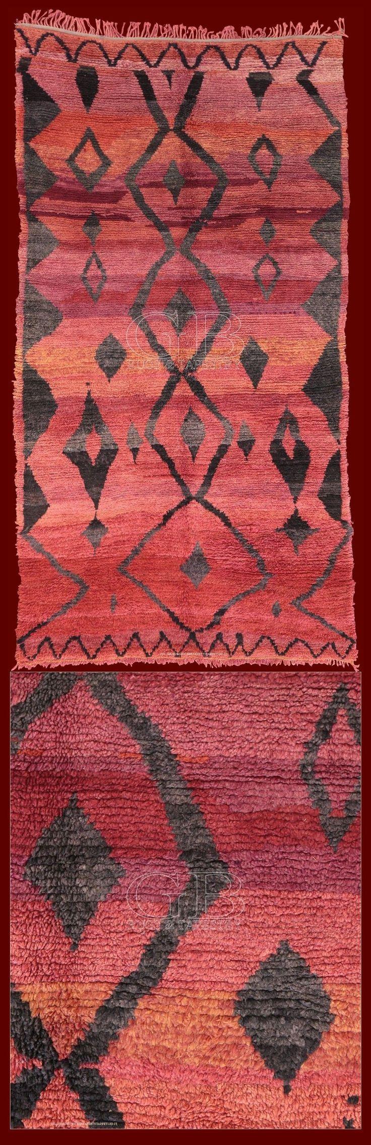 I tappeti provenienti dalla regione Talsent (estremo est del Marocco, confine con l'Algeria)