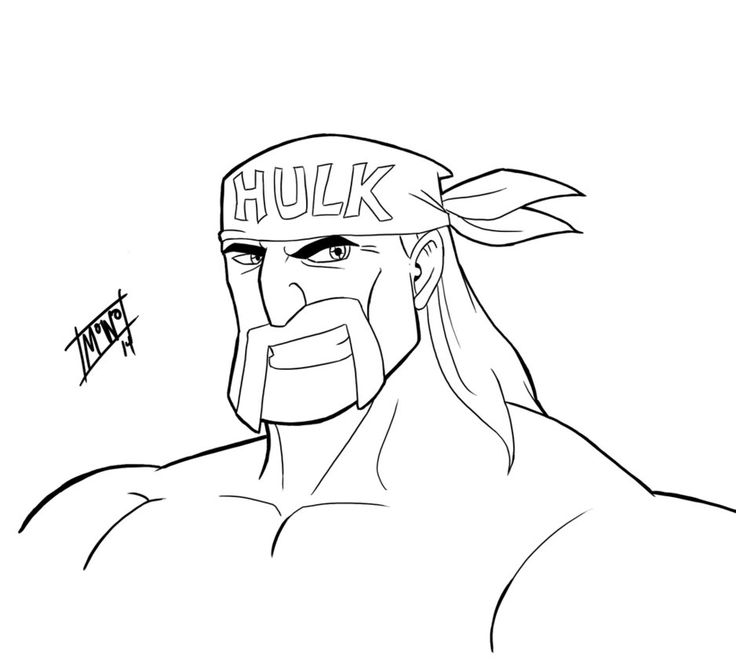 Quick Draw WWE Hulk Hogan by