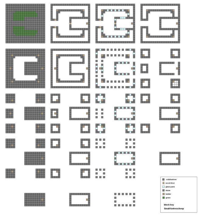Die besten 25+ Minecraft Schloss Baupläne Ideen auf