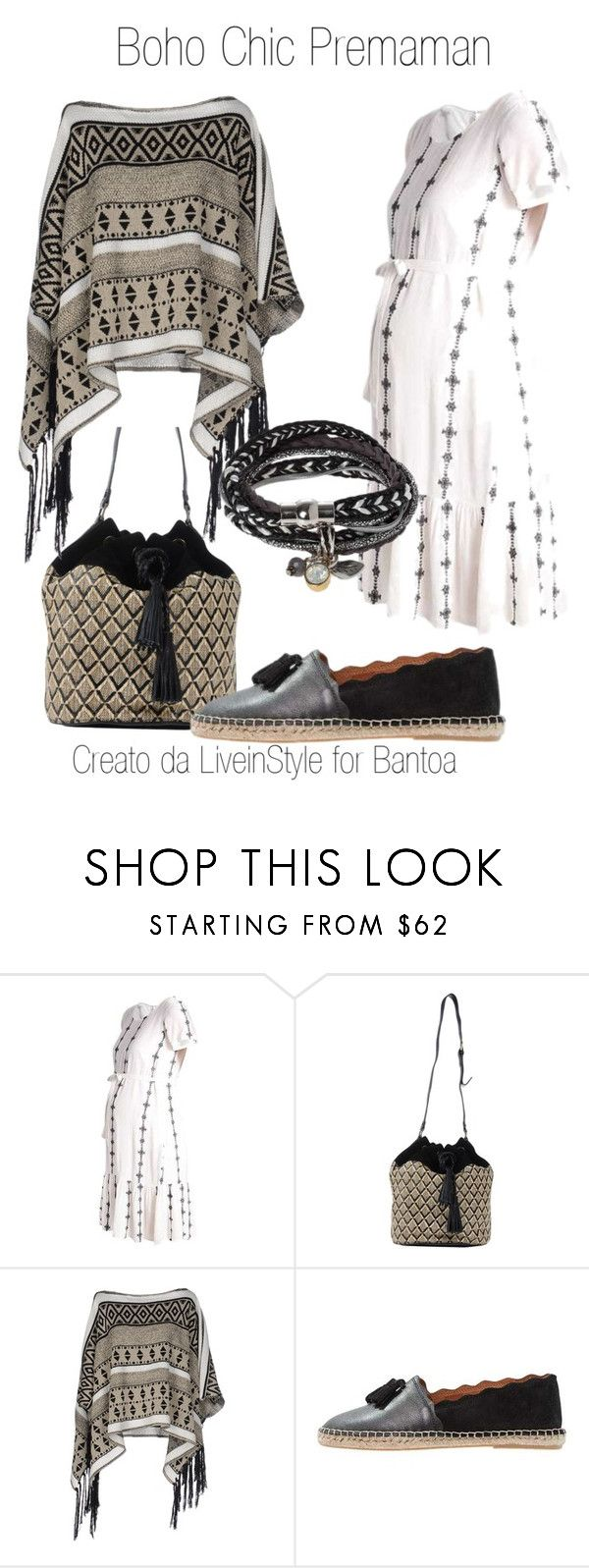 Boho Chic Premaman by liveinstyleyourlife on Polyvore featuring moda, Katia G., Sessùn and Estivo