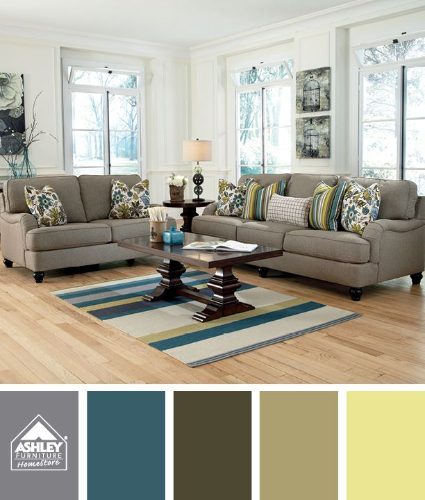 Nice Living Room Furniture: Bright Ideas: Styling With Color