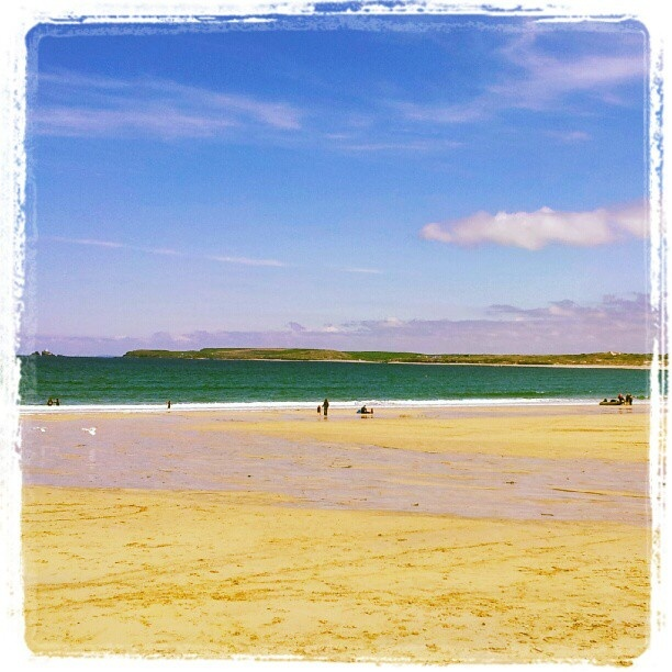 Postcard of Carbis Bay, #StIves #Cornwall #instagram