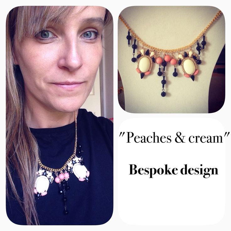 Beautiful bespoke piece using high quality beads and findings totally unique!