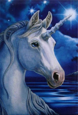 Sacred Unicorn by Lisa Parker