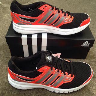 Sepatu Running Adidas Galactic Elite Solar Red Grey Black Original